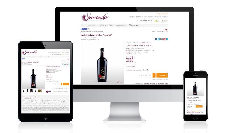 Svinando.com: esempio di sito web costruito secondo i nuovi dettami Google